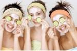 Masque de visage rajeunissant au concombre