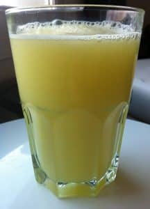 jus d'ananas cresson contre la rhinite